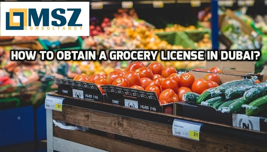 Grocery license in Dubai