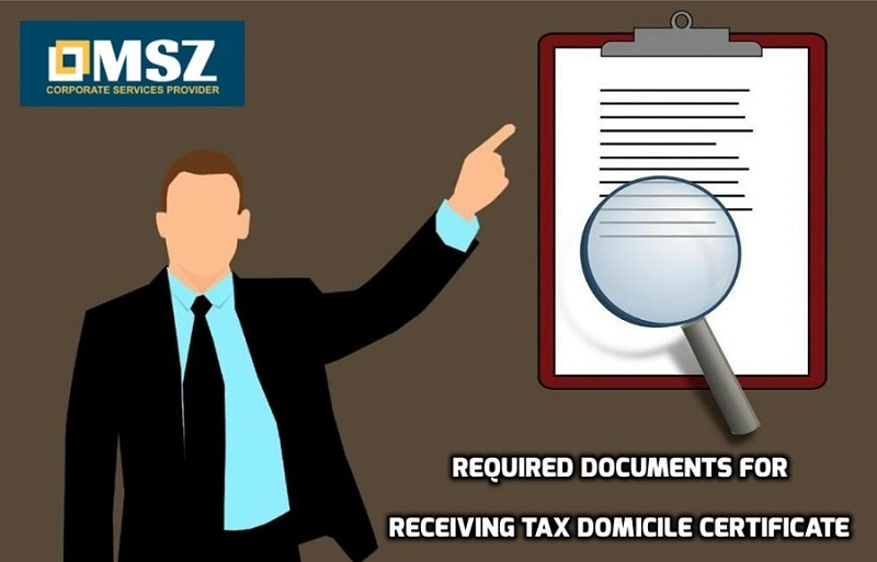 Tax Residency Certificate | Tax Domicile Certificate in UAE