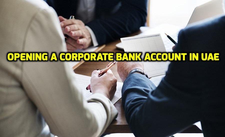 Corporate bank account in UAE