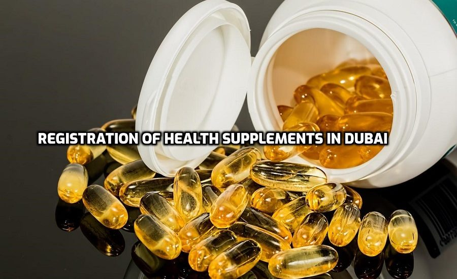 Registration of Health Supplements in Dubai