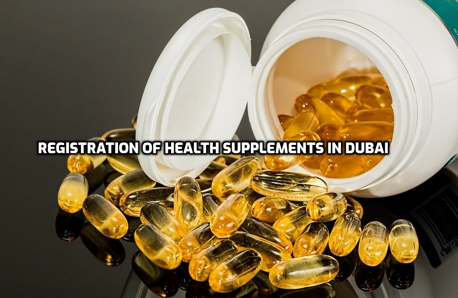 Registration of Health Supplements in Dubai | Product Registration