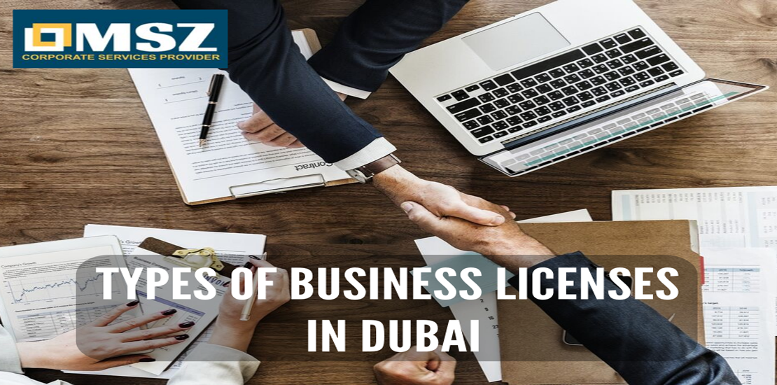 types of business license in dubai