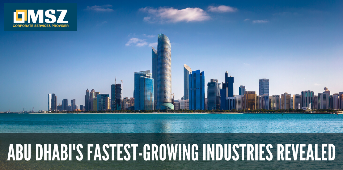 Abu Dhabi's top industries