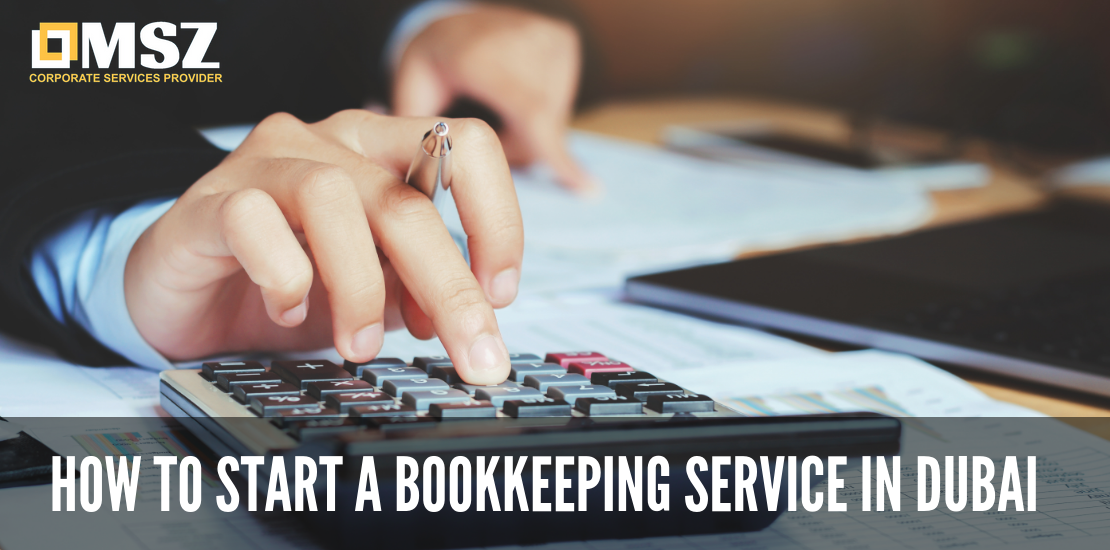 how to start a bookkeeping service in dubai