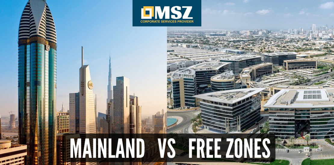 Difference between Free Zone and Mainland