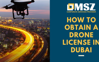 Obtaining drone license in Dubai