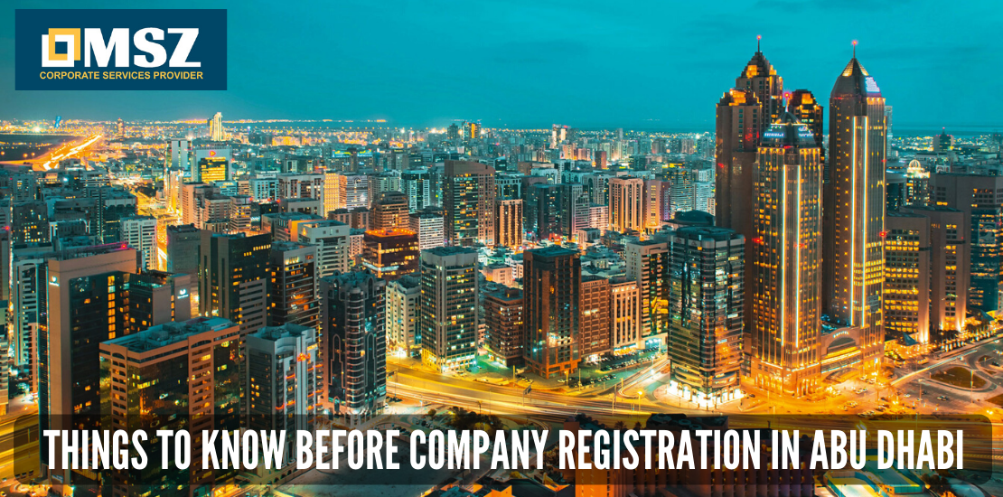 Things to know before company registration in Abu Dhabi