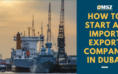 How to start an import – export company in Dubai?