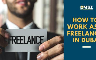 How to work as a freelancer in Dubai