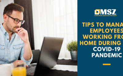 Tips to manage employees working from home during COVID-19 pandemic