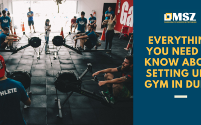 Gym license in Dubai I All about setting up a gym in Dubai