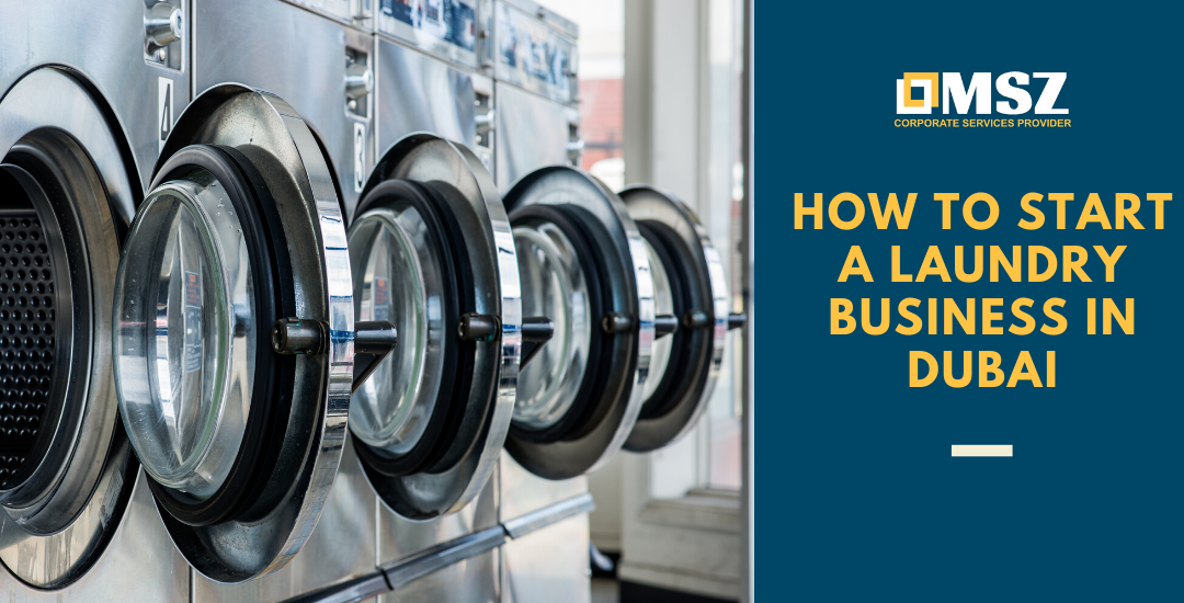 How to start a laundry business in Dubai