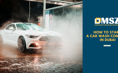 How to start a Car Wash company in Dubai